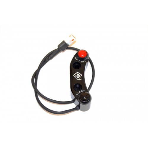 CPPI06 - BRACKET BRAKE PUMP BREMBO RADIAL WITH BUTTONS INTEGRATED