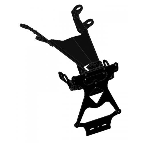 PRT06 - M821 ADJUSTABLE LICENSE PLATE HOLDER